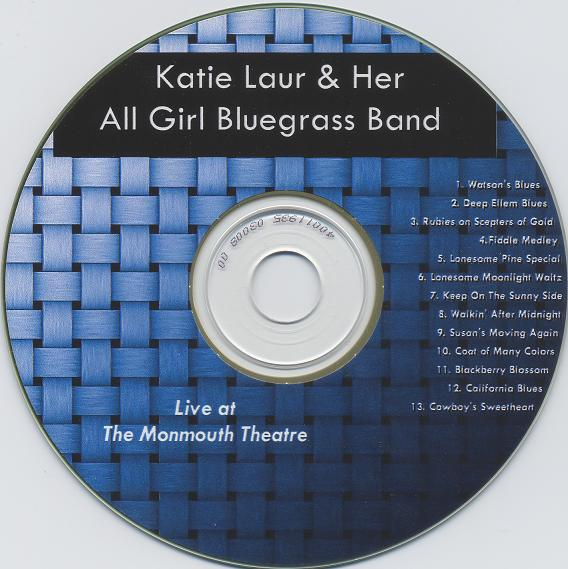 Katie Laur All Girl Band Live at Monmouth Theatre